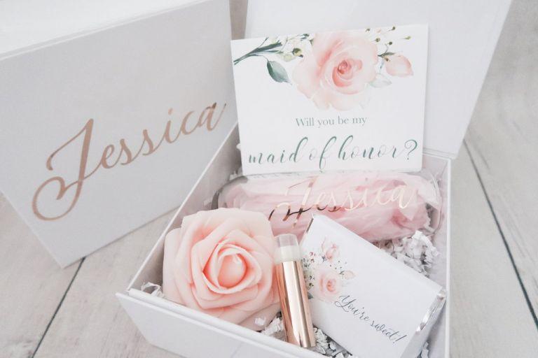 Bridesmaid Proposal Boxes | Bridesmaid Gift Ideas | Hill City Bride Virginia Weddings
