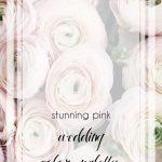 Pink Wedding Color Combinations | Wedding Color Palette | Wedding Colors | Hill City Bride Virginia Weddings