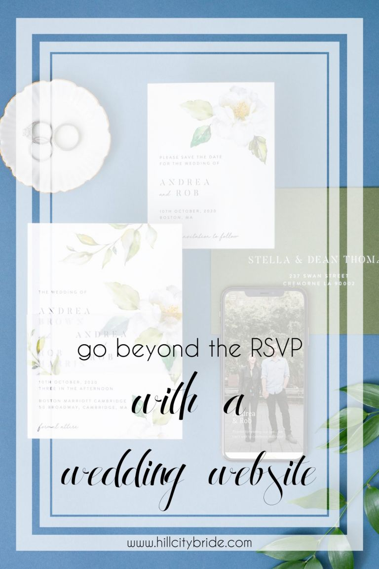 Joy Wedding Website | Hill City Bride Virginia Weddings Blog