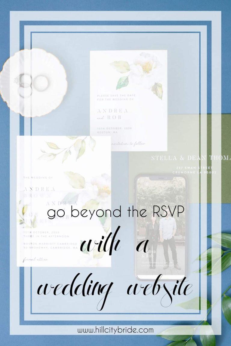 Joy Wedding Website | Hill City Bride Virginia Weddings Blog