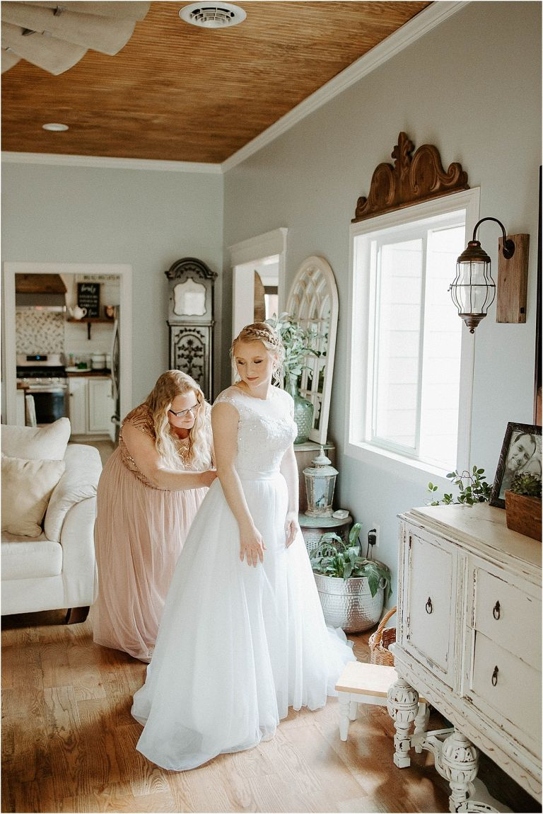 Small Intimate Wedding During Coronavirus What to Do COVID 19 | Hill City Bride Virginia Weddings Getting Ready
