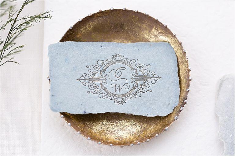 Steel Blue and Burgundy Virginia Wedding | Hill City Bride Wedding Ideas Blog Stationery