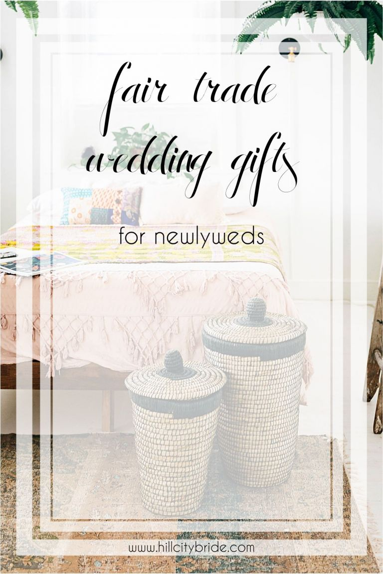 Fair Trade Products Wedding Gifts | Hill City Bride Virginia Weddings