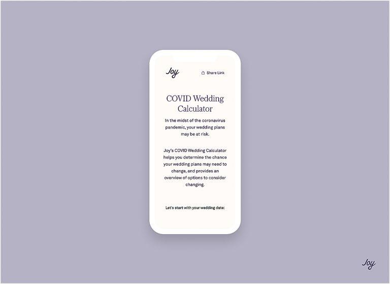 Wedding Preparation With a Joy COVID Wedding Calculator | Hill City Bride