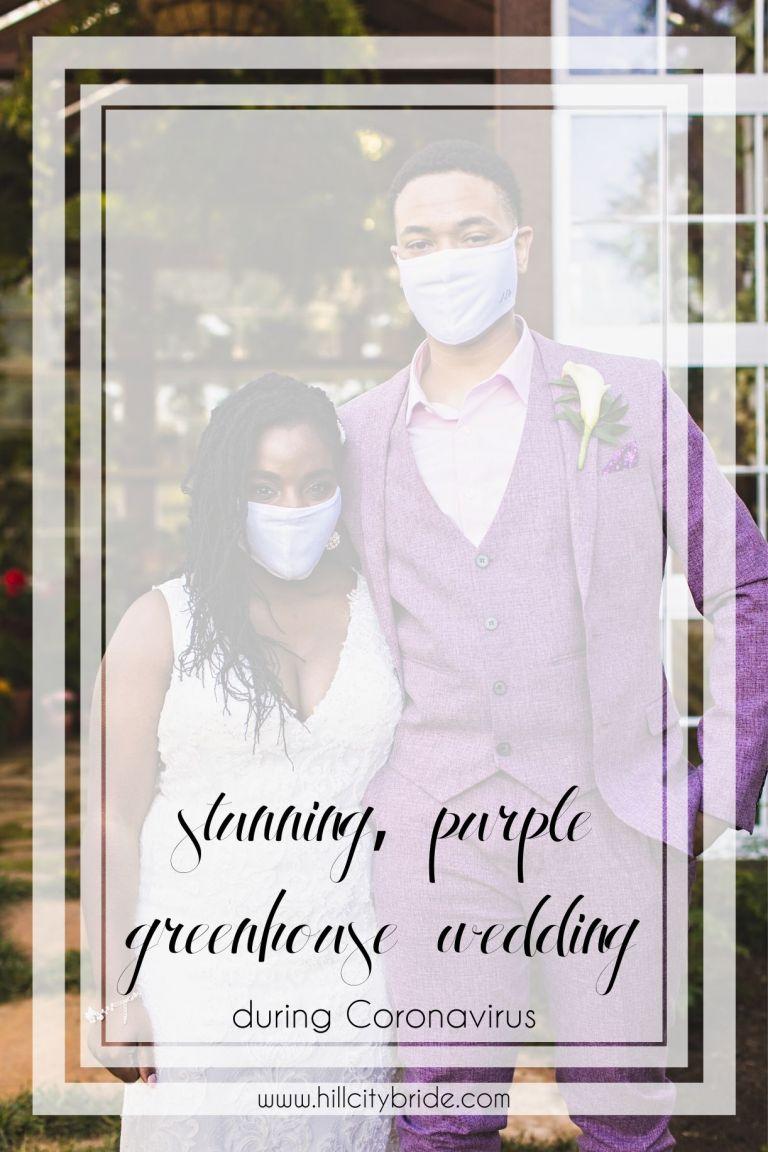 Purple Wedding | Outdoor Wedding Ceremony Decor | Hill City Bride Virginia Weddings