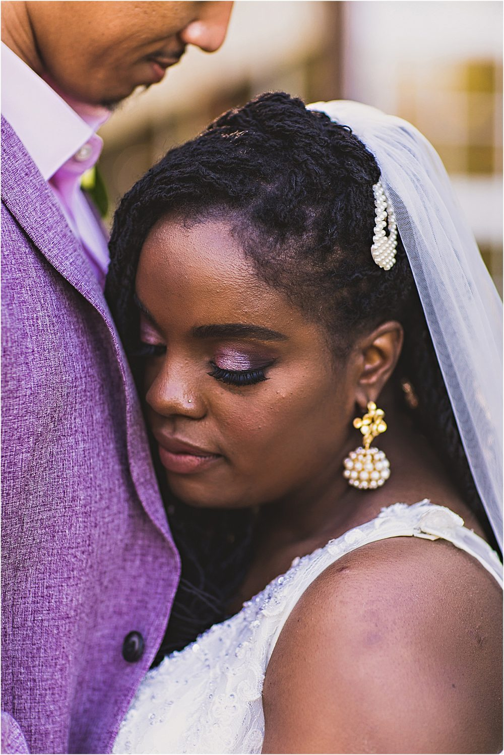 Purple Wedding Virginia Greenhouse | Lynchburg | Hill City Bride Wedding Blog |
