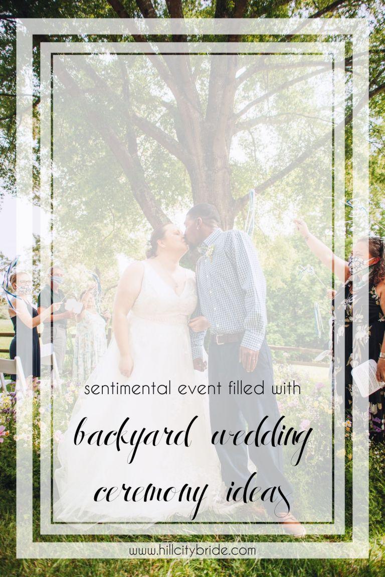 Small Backyard Wedding Ceremony Ideas During Coronavirus COVID-19   Hill City Bride Virginia Weddings