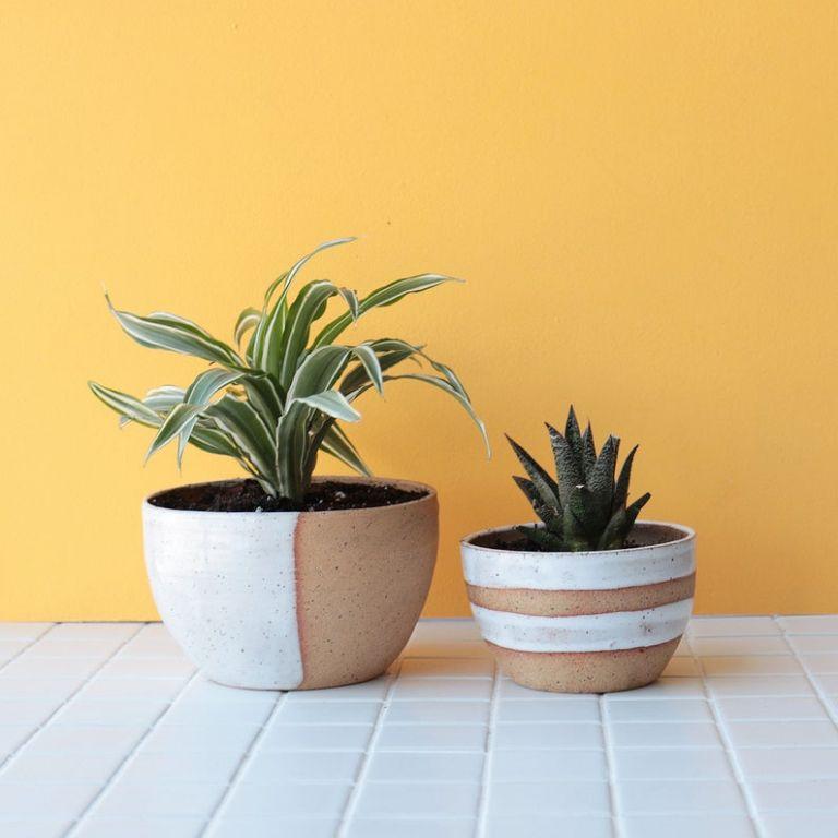 Ceramic Planter on Etsy with JoJo Fletcher Home Decor Ideas