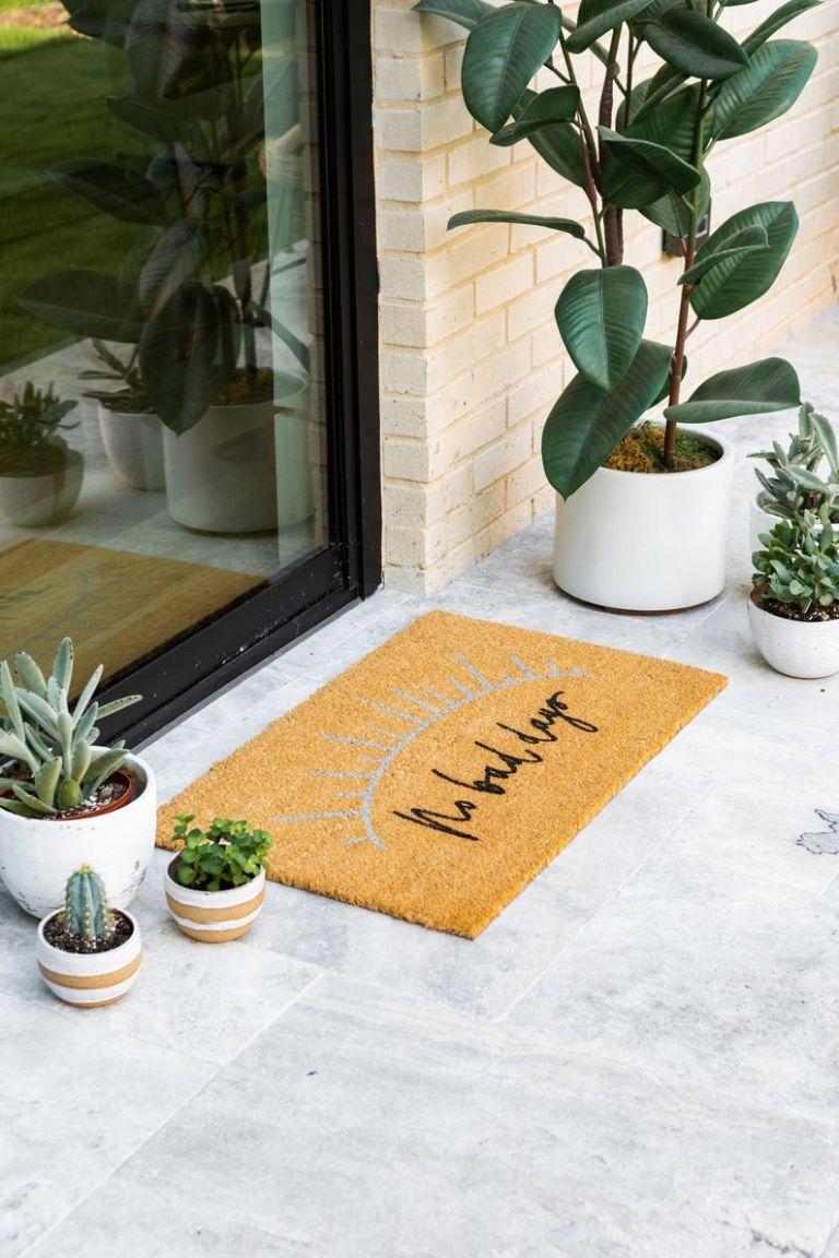 Homemade Home Decor Items on Etsy JoJo Fletcher Doormat