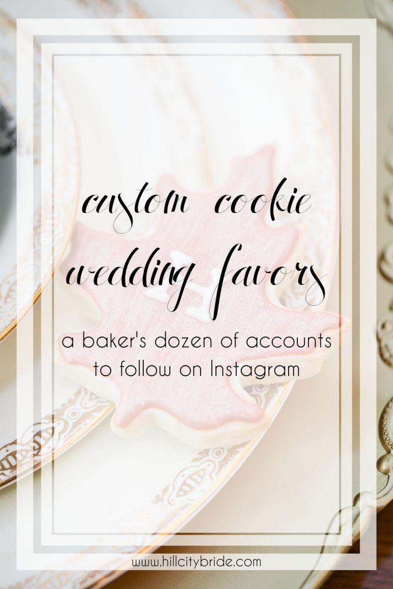 13 Amazing Custom Cookies Accounts to Follow Immediately | Hill City Bride