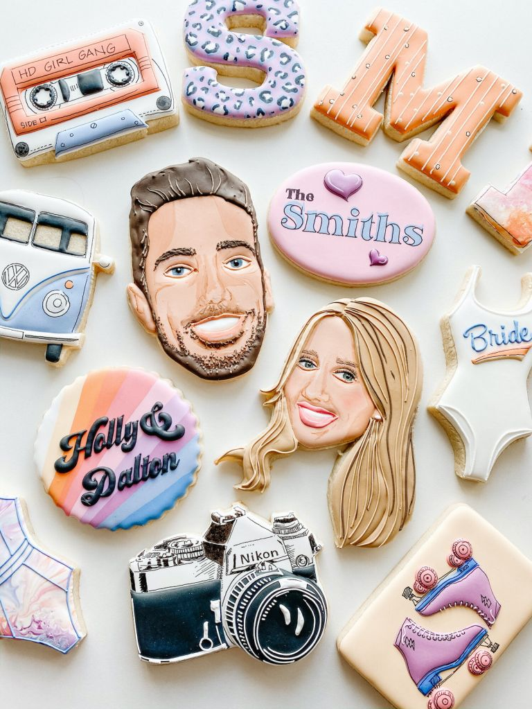 Personalized Wedding Cookies Toronto, Canada