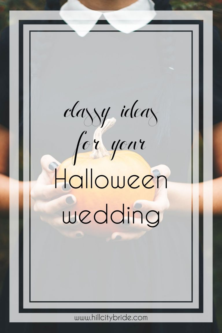 The Best Classy Halloween Wedding Ideas | Gothic Wedding Ideas