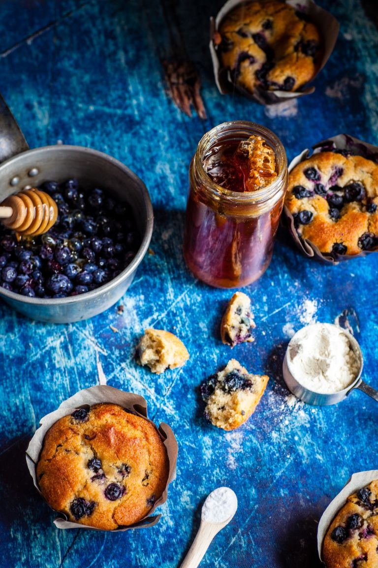 Healthy Blueberry Bread | Blueberry Lemon Bread