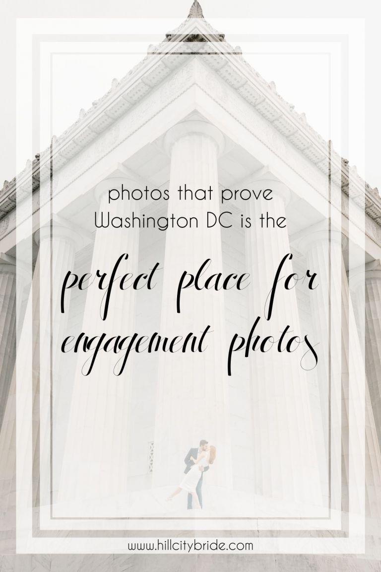 Engagement Photos DC Washington | Hill City Bride