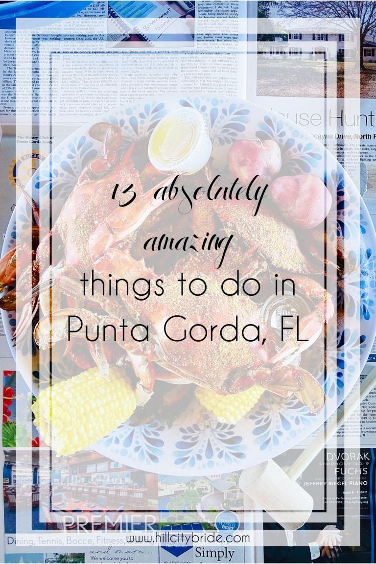 Things to Do in Punta Gorda Florida Airport Code PGD