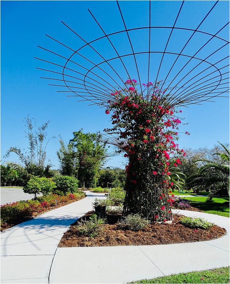 Peace River Botanical and Sculpture Gardens Punta Gorda Florida
