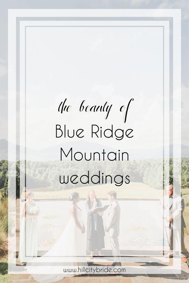 Blue Ridge Mountain Wedding Venues