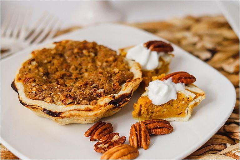 How to Make Mini Pumpkin Pies Recipe | Thanksgiving Christmas Fall Autumn Dessert
