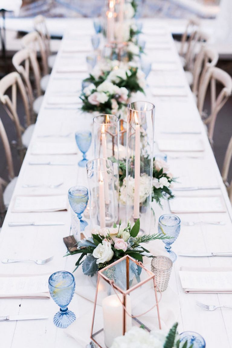 Unique Winter Wedding Colors from Michelle Leo Events