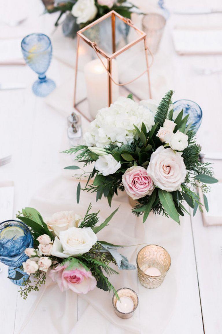 Unique Winter Wedding Colors via Michelle Leo Events