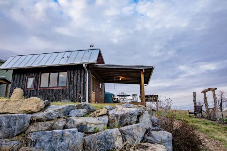 Tiny House Airbnb Virginia Harrisonburg Places to Stay Unique