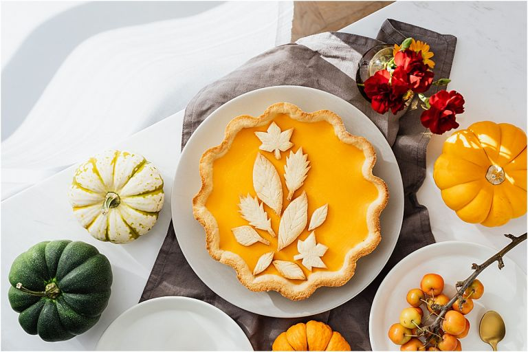 Thanksgiving for Two Menu Ideas Pumpkin Pie Decorated
