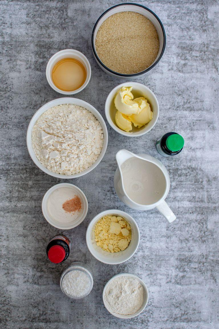 How to Make Homemade Vegan Christmas Cupcakes Ingredients