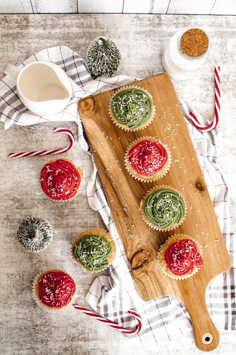 How to Make Homemade Vegan Christmas Cupcakes