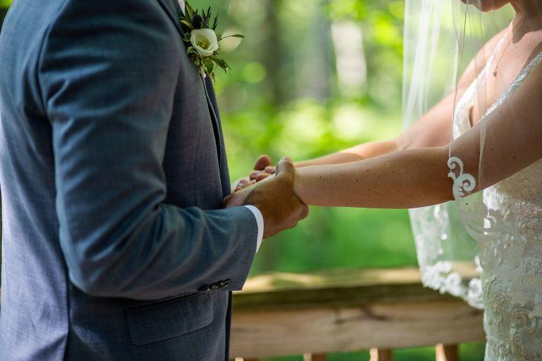 Micro Wedding at Airbnb Wedding Venues Virginia Richmond
