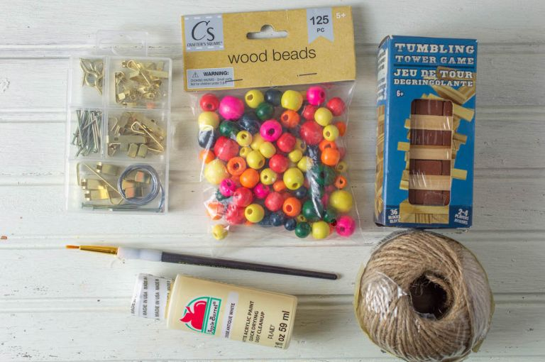 Craft Supplies from Dollar Tree for Christmas Wedding Favors