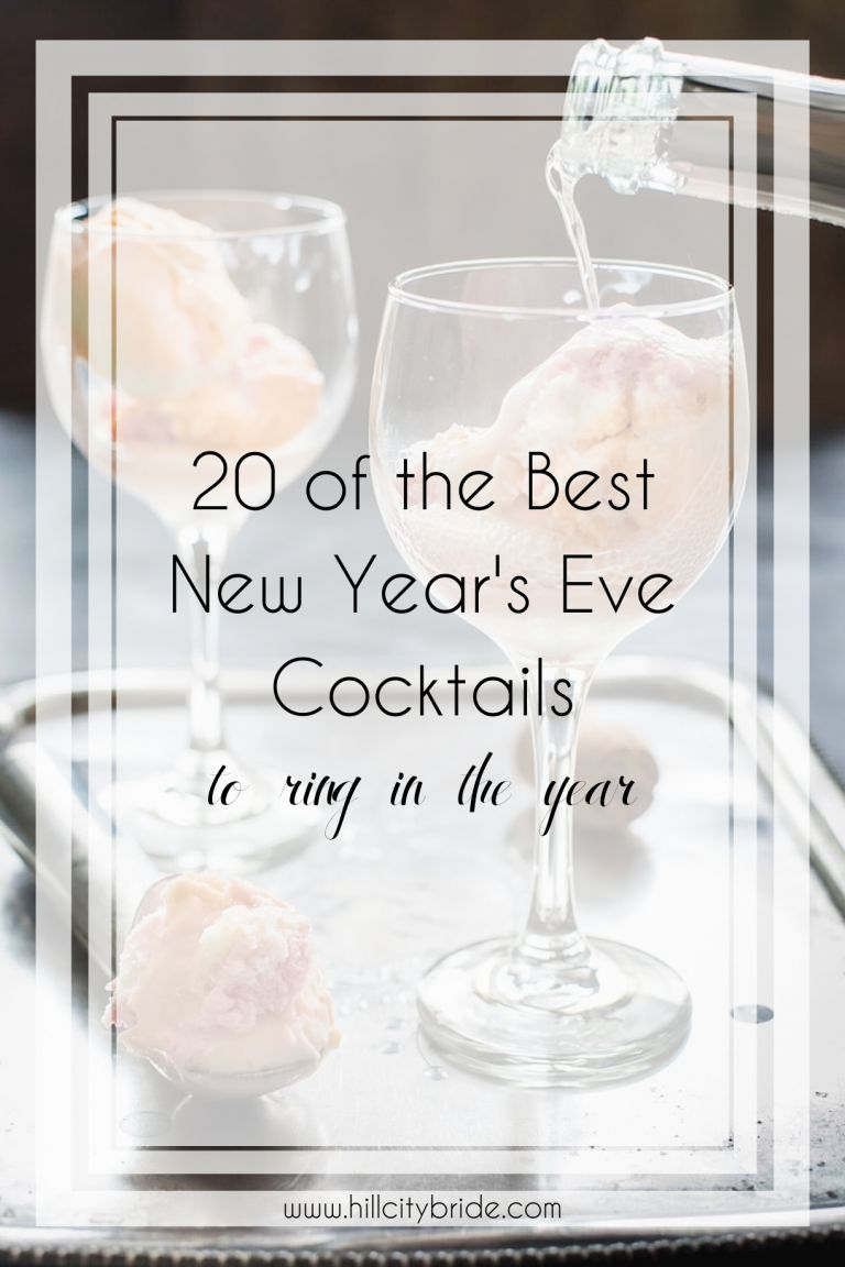 20 of the Best Cocktail Recipes to Make as New Year's Eve Drinks