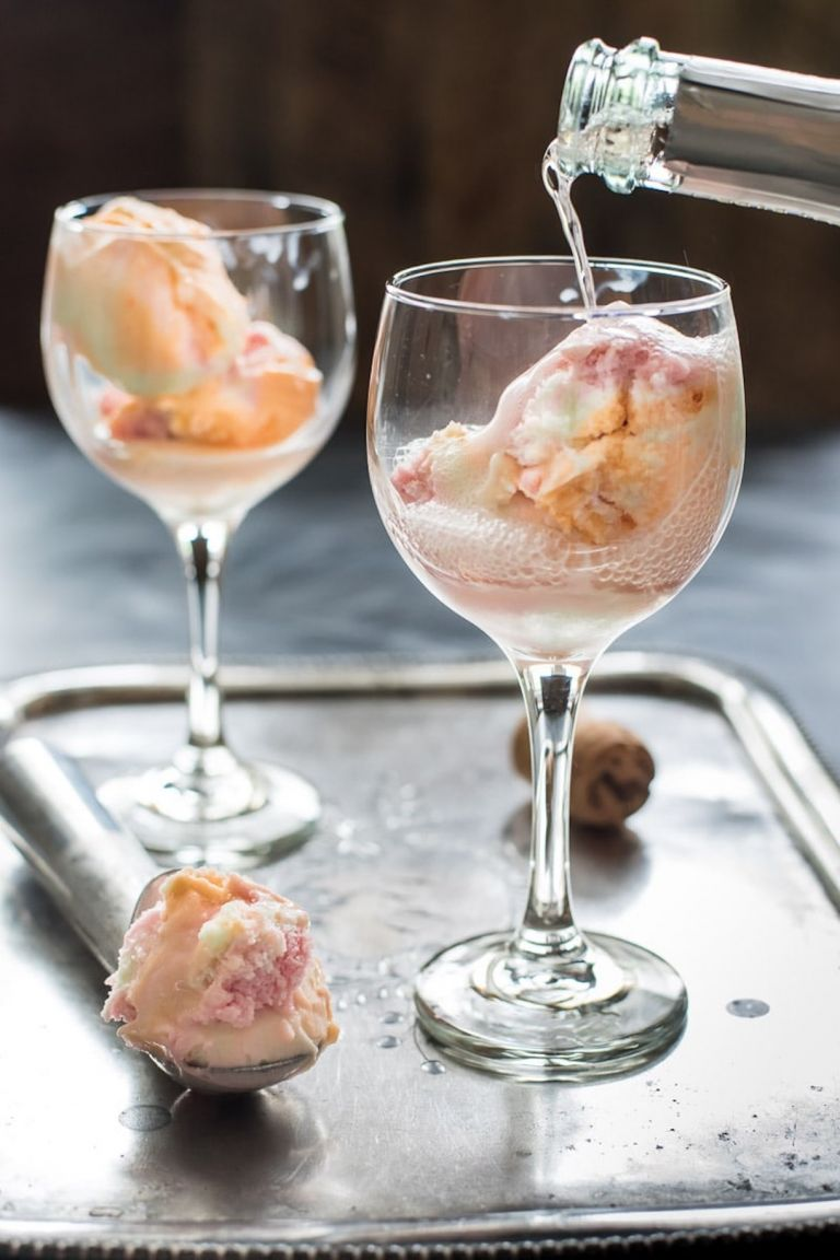 Sherbert Drink Recipes for New Year's Eve