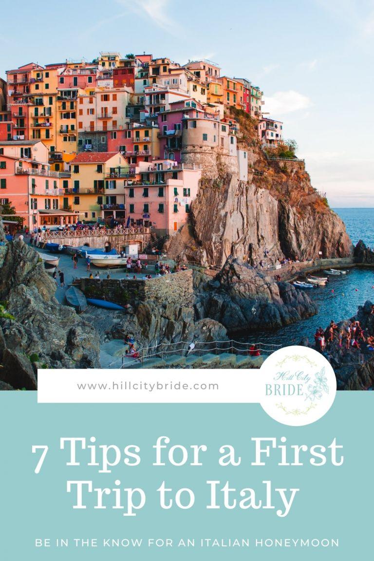 Nuostabūs dalykai, kuriuos reikia žinoti pirmą kartą vykstant į Italiją medaus mėnesį