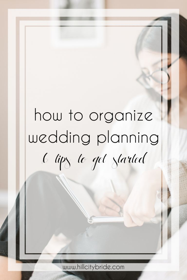 6 Tips on How to Organize Wedding Planning in the New Year