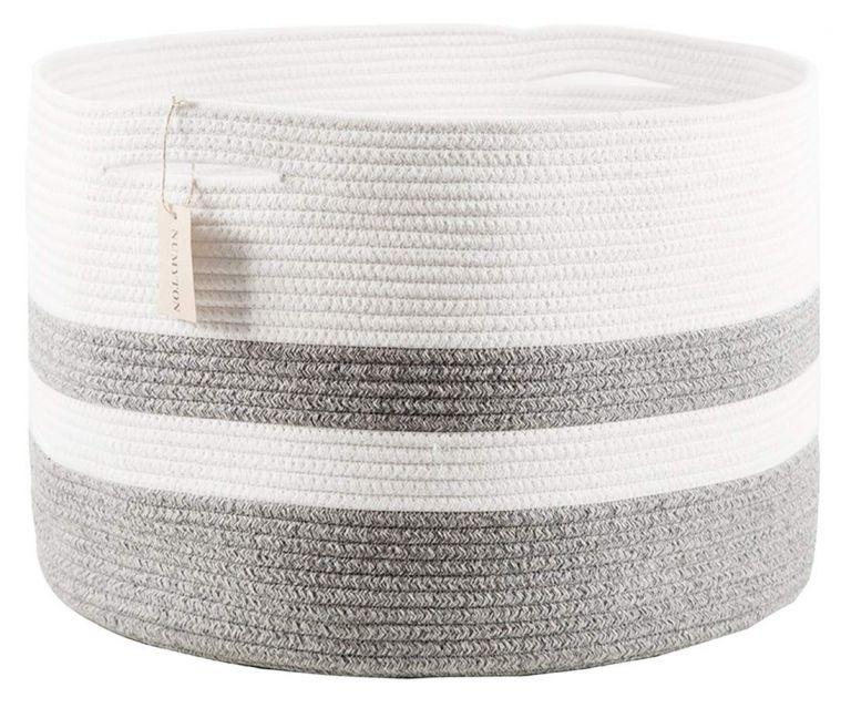 Numyton XXXL Large Cotton Rope Laundry Basket