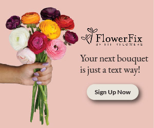 Fifty Flowers Ad Tile