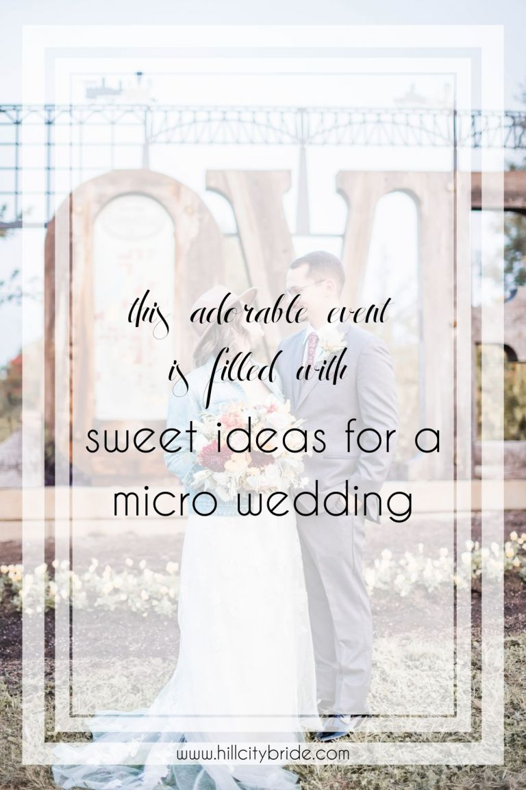 This Adorable Event Is Filled With Sweet Ideas for a Micro Wedding