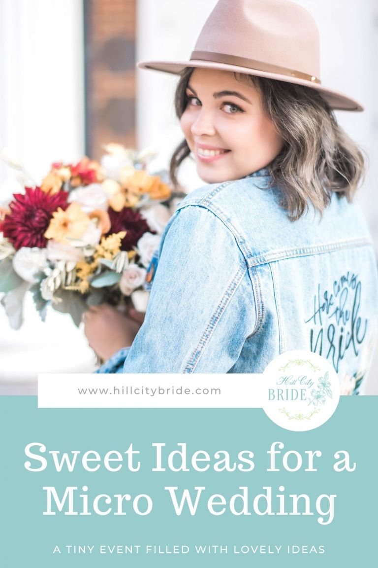 This Adorable Event Is Filled With Sweet Ideas for a Micro Wedding Day