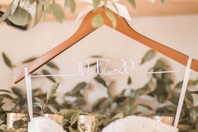 Virginia Micro Wedding Hanger Dress