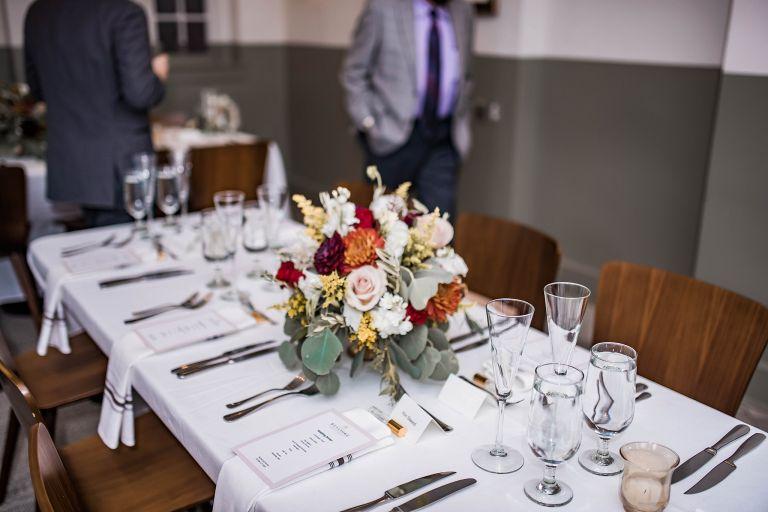 Virginia Micro Wedding Reception