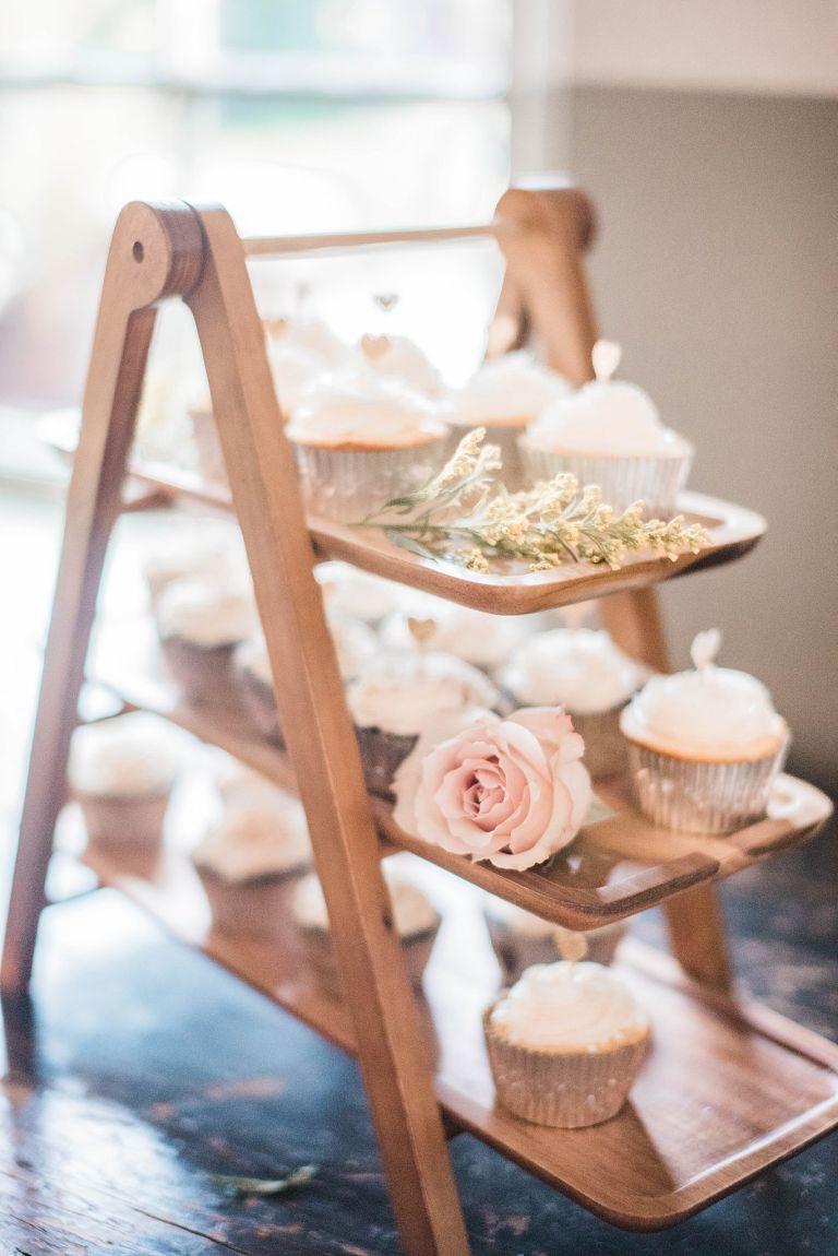 Virginia Micro Wedding Cupcakes
