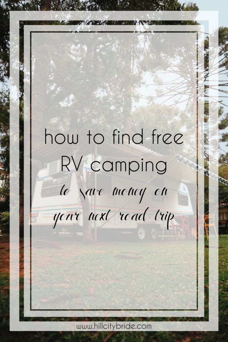 How to Find Free RV Camping to Save Money on Your Next Trip