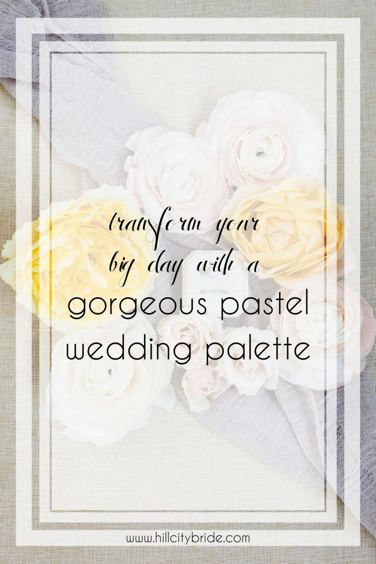 Transform Your Big Day With This Gorgeous Pastel Wedding Theme