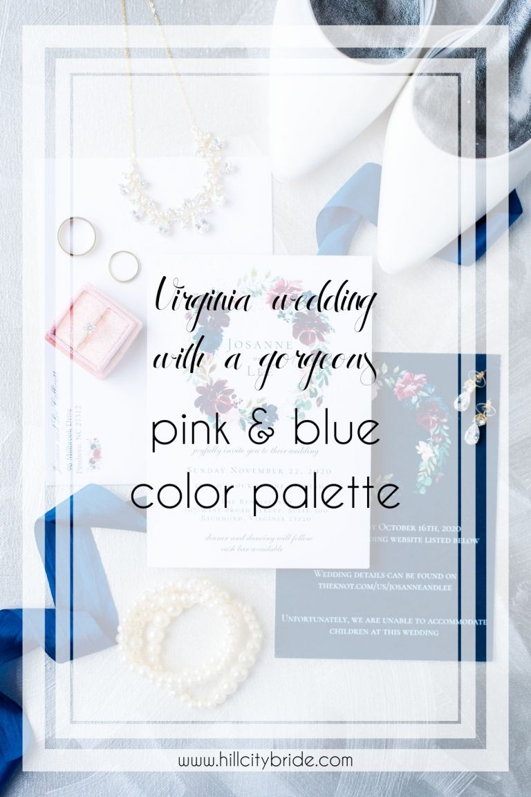 How to Have an Absolutely Perfect Pink and Blue Wedding Day