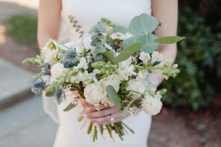 Green Summer Wedding Bouquet