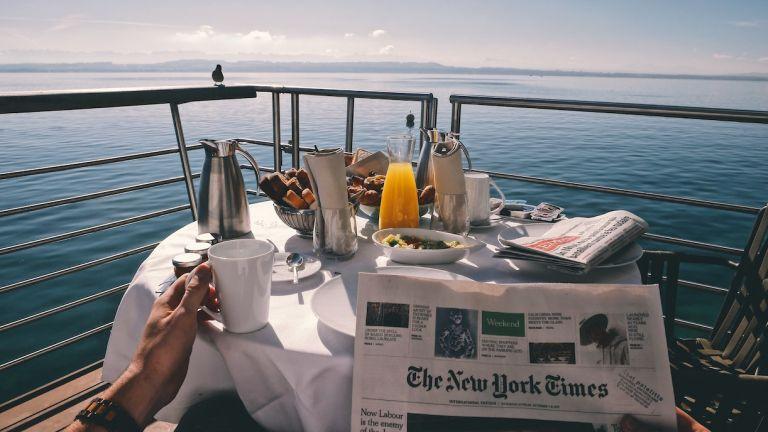Breakfast on a Cruise Ship Honeymoon