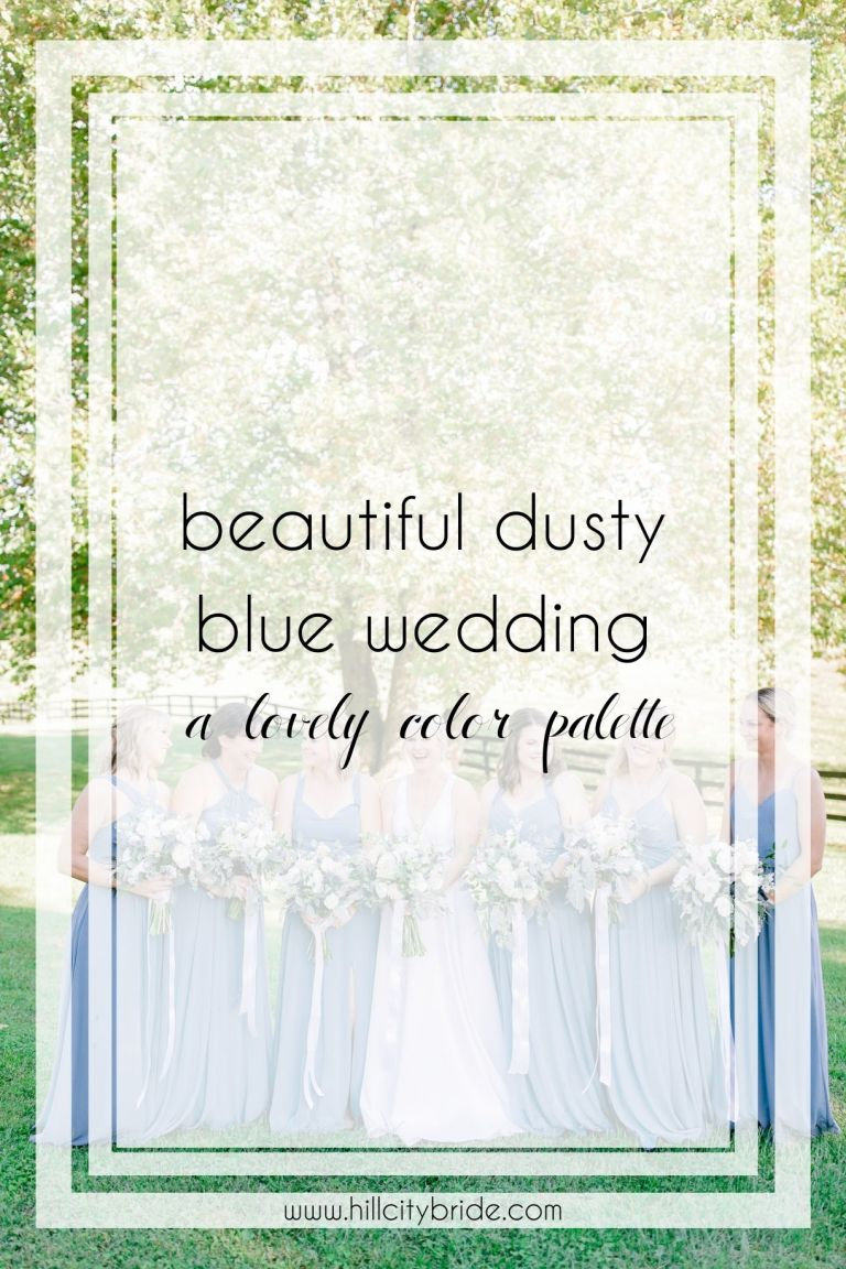 Use These Beautiful Dusty Blue Wedding Ideas for Your Big Day