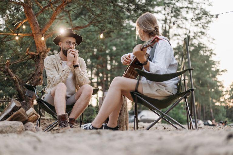 Camping Honeymoon