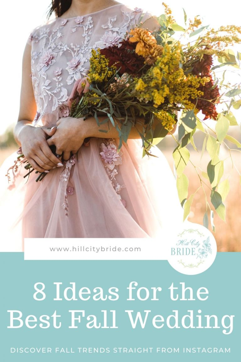 Ideas for a Fall Wedding from Instagram