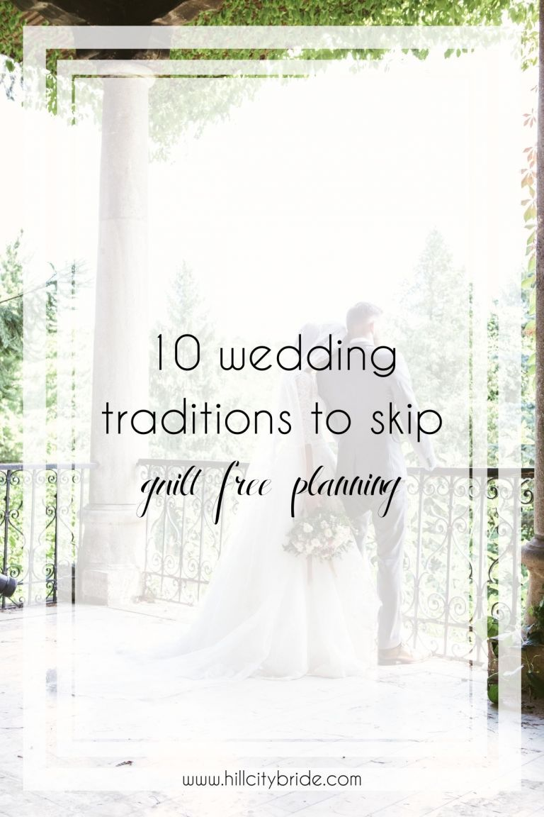 10 Unnecessary Wedding Traditions You Can Skip Totally Guilt Free
